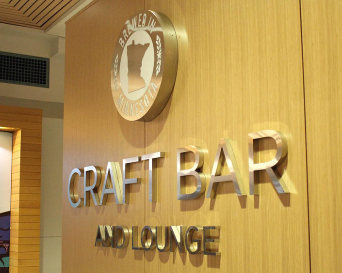 Craft Bar and Lounge in the Minneapolis Convention Center