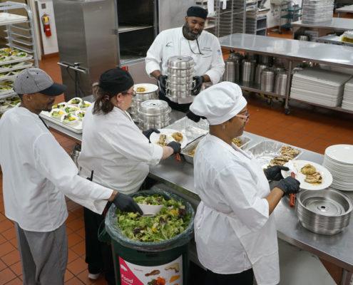 Packaging food for People Serving People
